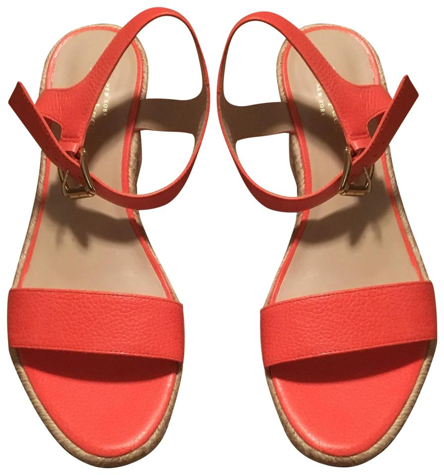 46cb4055f Kate Spade Pink Vero Cuoio Wedges Size US 9 Regular (M