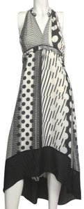 Black & White Maxi Dress by Anthropologie