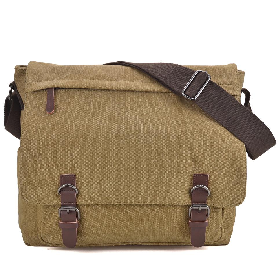 35890899cb Dasein The Treasured Hippie Vintage Designer Inspired Large Bags Affordable Bags  Khaki Messenger Bag Image 0 ...