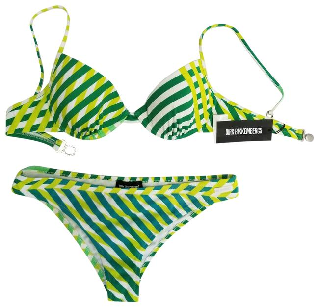 Preload https://img-static.tradesy.com/item/24267872/green-and-white-new-women-two-piece-lined-underwire-swimsuit-bikini-set-size-4-s-0-3-650-650.jpg