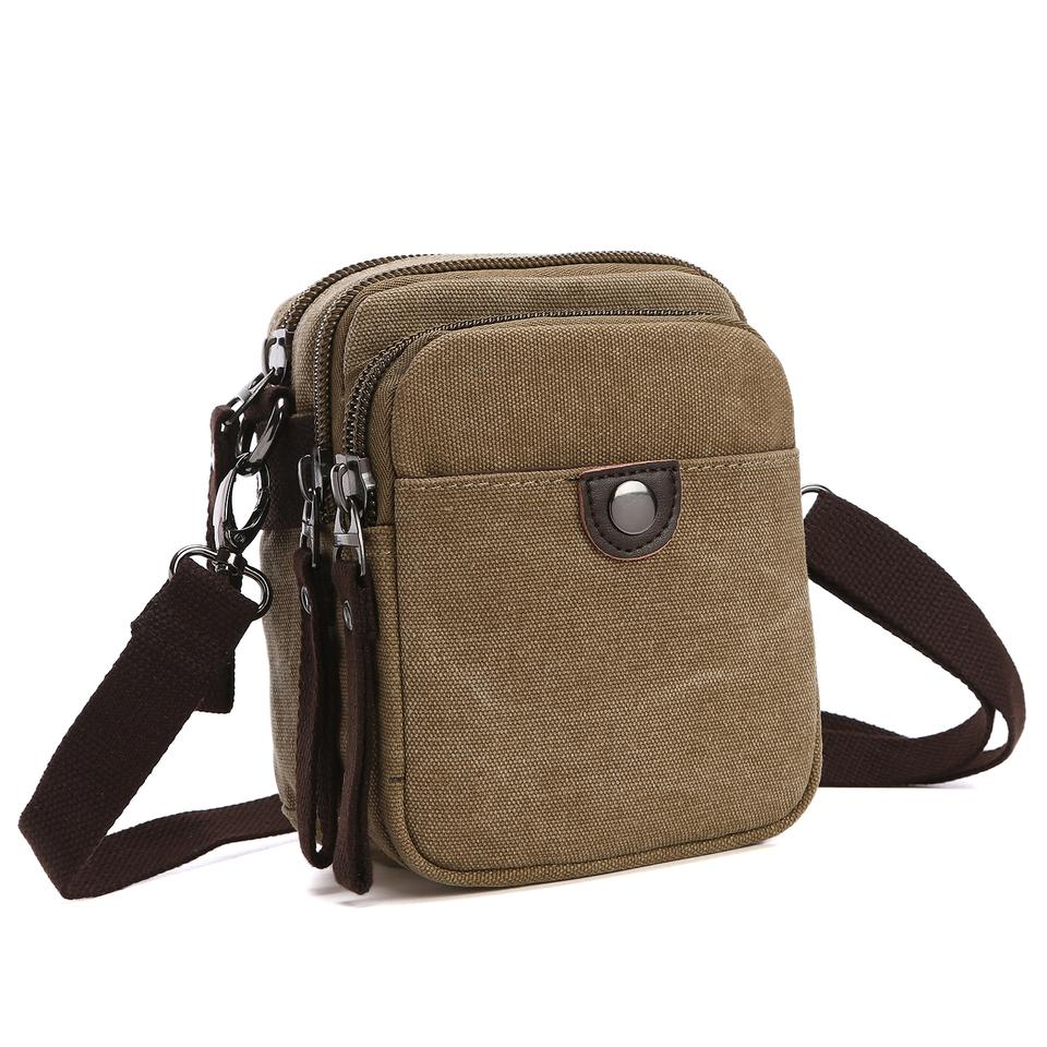 9865acef01 Dasein The Treasured Hippie Vintage Designer Inspired Affordable Bags Small Bags  Khaki Messenger Bag ...