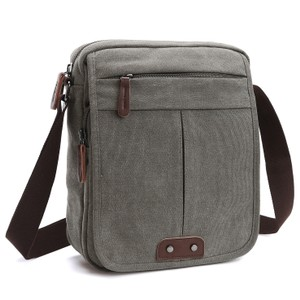 Dasein The Treasured Hippie Vintage Designer Inspired Affordable Bags Small Bags Gray Messenger Bag