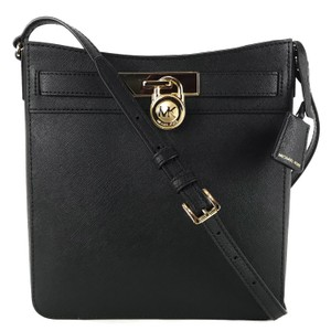 243a945ac5c8 Added to Shopping Bag. Michael Kors Bags Mk Crossbody Bags Crossbody Black  Messenger Bag. Michael Kors Hamilton Traveler Crossbody Black Leather ...
