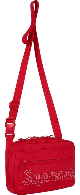 Item - Limited Edition Red Dimension-polyant Vx21-rs 4-layered Fabric Cross Body Bag