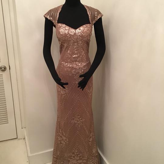 Preload https://img-static.tradesy.com/item/24268113/cameron-blake-dark-champagne-sequin-lacechiffon-217632-formal-bridesmaidmob-dress-size-12-l-0-0-540-540.jpg