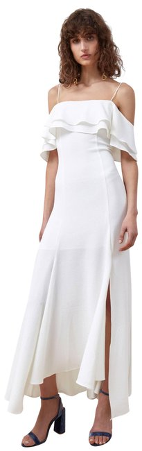 Preload https://img-static.tradesy.com/item/24268243/cmeo-collective-ivory-cmeo-translation-cold-shoulder-gown-long-cocktail-dress-size-6-s-0-3-650-650.jpg