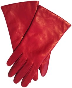 Portolano Portolano Cashmere-Lined Napa Leather Gloves