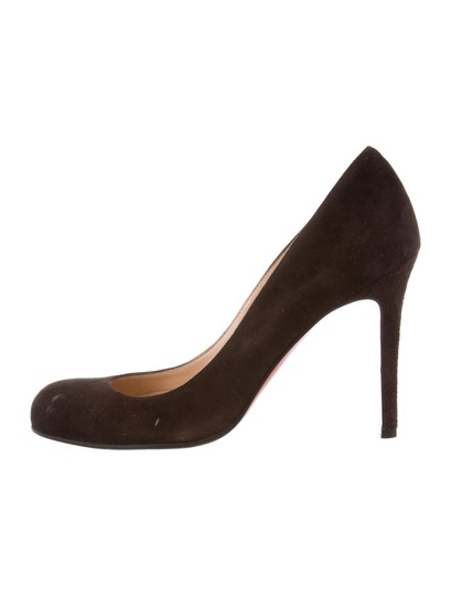 Preload https://img-static.tradesy.com/item/24268588/christian-louboutin-brown-simple-round-toe-pumps-size-eu-38-approx-us-8-regular-m-b-0-1-540-540.jpg
