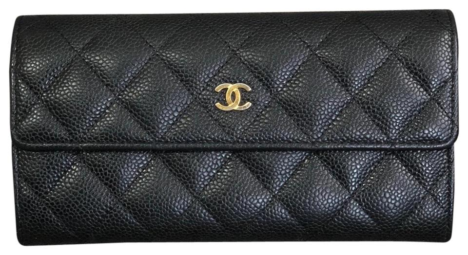 70b5797f0b0b Chanel Authentic CHANEL Caviar Long Wallet ...