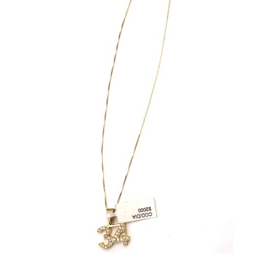 Other yellow gold 14k diamond 34 necklace