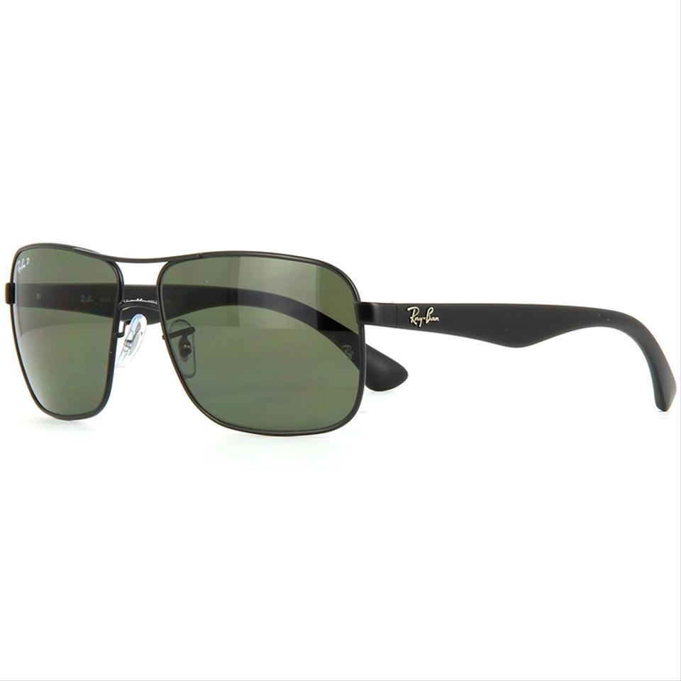 287719f663d Ray-Ban Square Style Unisex RB3516 006 9A Green Classic G-15 Polarized ...