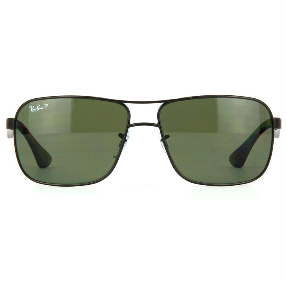 92ed37be6ff Ray-Ban Square Style Unisex RB3516 006 9A Green Classic G-15 Polarized.  123456