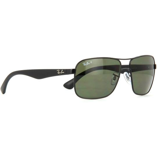 Ray-Ban Square Style Unisex RB3516 006/9A Green Classic G-15 Polarized Lens