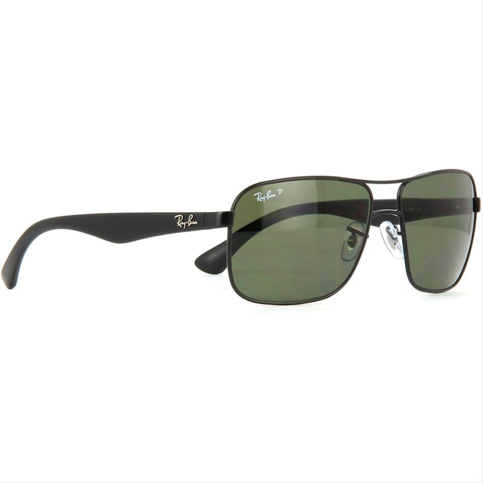 fb9f19c9de6 Ray-Ban Square Style Unisex RB3516 006 9A Green Classic G-15 Polarized.  123456