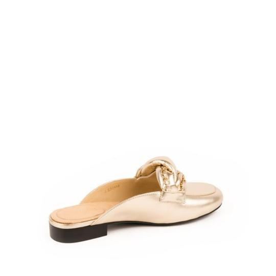 Chanel 36.5 New Light Gold Mules Image 2