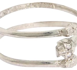 Alexander McQueen Horse Shoe Slip-On Bangle