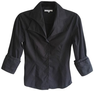 Anne Fontaine Button Down Shirt Black