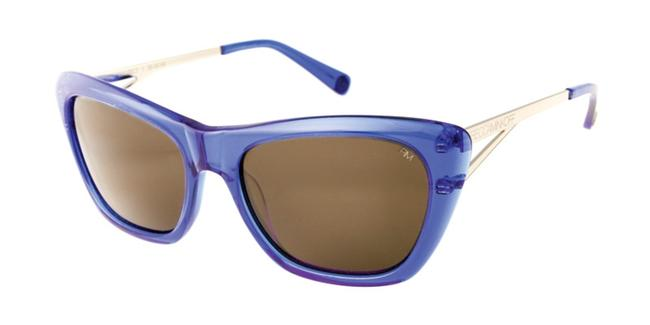 Item - Blue Waverly Cateye Sunglasses
