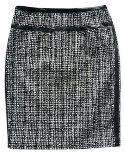 Premise Skirt Black and White