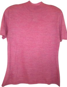 Sag Harbor Lightweight Mock Neck Short Sleeve Sweater