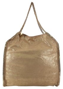 Stella McCartney Canvas Tote in gold