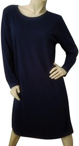 BFA Classics Navyblue Midcalf Comfortable Up Or Down Dress