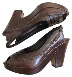 Frye brown Platforms