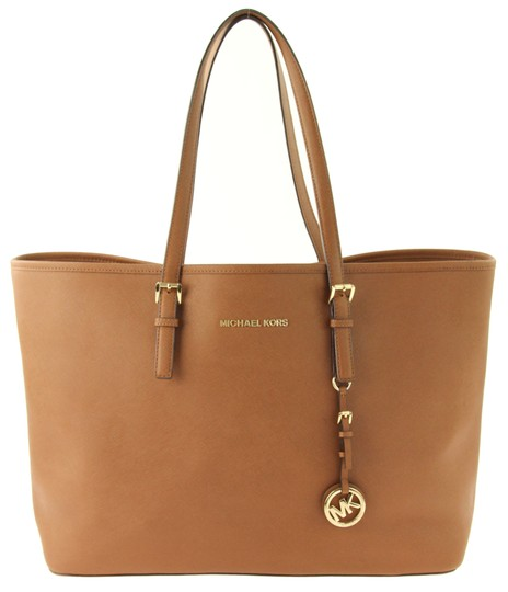 Preload https://img-static.tradesy.com/item/24269837/michael-kors-jet-set-brown-saffiano-leather-tote-0-0-540-540.jpg