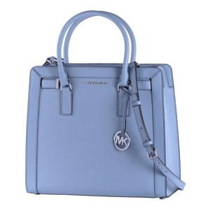 Michael Kors Leather Pink 191262018770 Satchel in blue