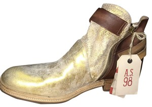 A.S. 98 gold &brown Boots