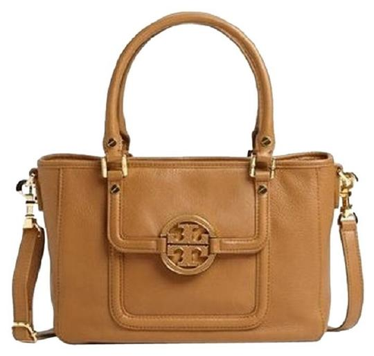 Preload https://img-static.tradesy.com/item/24270878/tory-burch-amanda-mini-crossbody-new-royal-tan-leather-satchel-0-0-540-540.jpg
