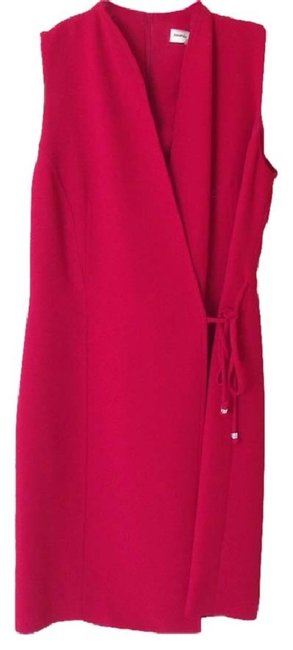Preload https://img-static.tradesy.com/item/24270915/amanda-smith-red-faux-rhinestone-tipped-ties-mid-length-night-out-dress-size-petite-4-s-0-0-650-650.jpg