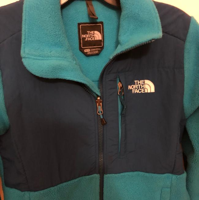 The North Face blue Womens Jean Jacket
