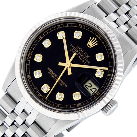 Preload https://img-static.tradesy.com/item/24270931/rolex-black-mens-datejust-ss18k-white-gold-with-diamond-dial-watch-0-3-540-540.jpg