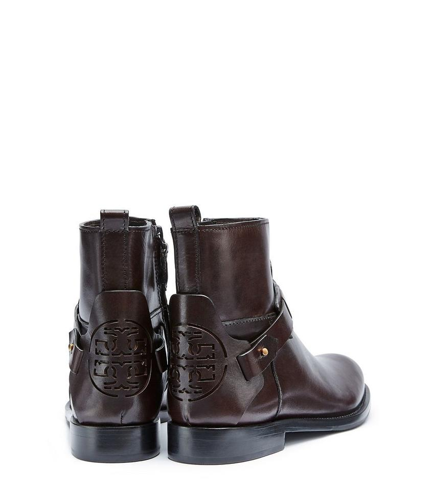 a6ef3e69d2d6 Tory Burch Coconut Derby Leather Ankle New Made In Brazil Boots Booties