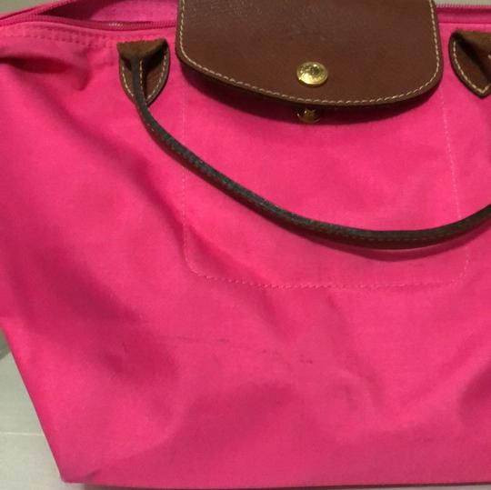 Longchamp Tote in pink