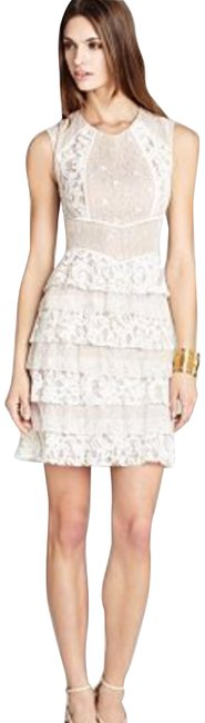 Preload https://img-static.tradesy.com/item/24271000/bcbgmaxazria-nude-ivory-white-and-lace-tiered-short-cocktail-dress-size-0-xs-0-4-650-650.jpg