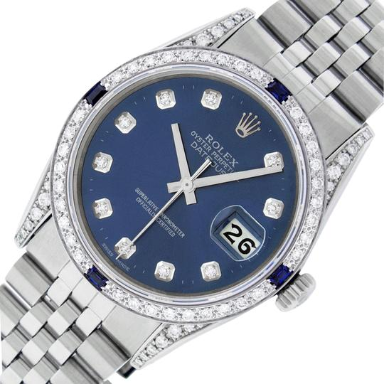 Preload https://img-static.tradesy.com/item/24271055/rolex-blue-mens-datejust-ss18k-white-gold-w-diamond-dial-sapphire-watch-0-3-540-540.jpg