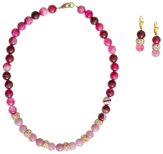 Preload https://img-static.tradesy.com/item/24271074/various-colors-truly-wonderful-natural-watermelon-tourmaline-3-beads-necklace-0-3-540-540.jpg