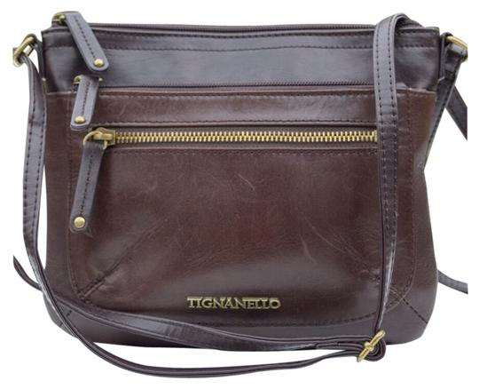 Preload https://img-static.tradesy.com/item/24271089/tignanello-brown-leather-cross-body-bag-0-3-540-540.jpg