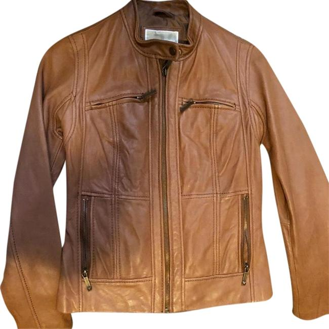 Preload https://img-static.tradesy.com/item/24271137/michael-kors-camel-fitted-moto-jacket-size-0-xs-0-3-650-650.jpg