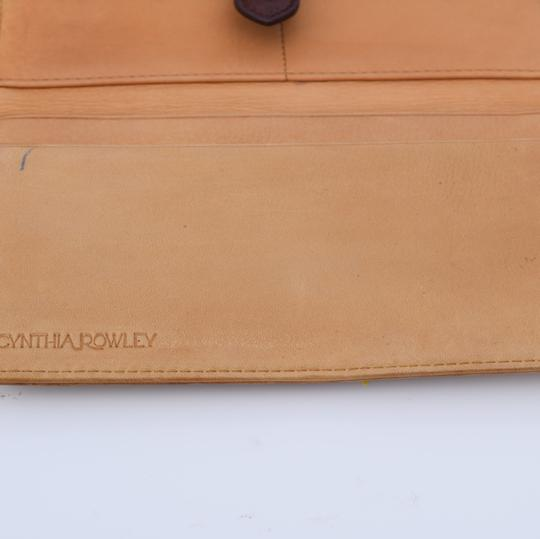 Cynthia Rowley leather