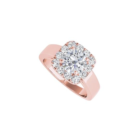 Preload https://img-static.tradesy.com/item/24271269/white-halo-cubic-zirconia-engagement-in-14k-rose-gold-ring-0-0-540-540.jpg