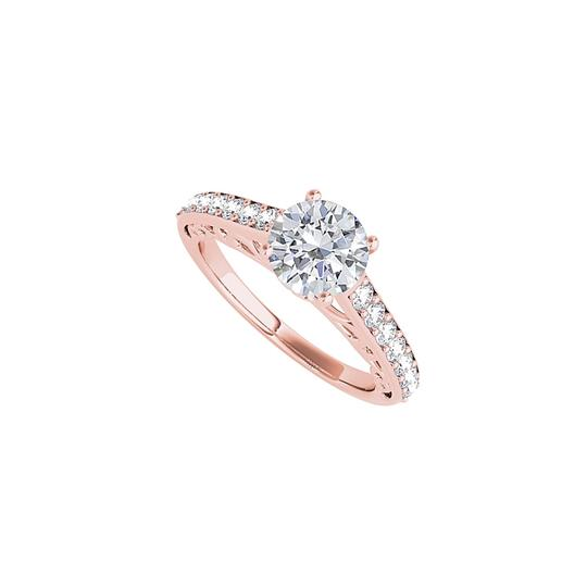 Preload https://img-static.tradesy.com/item/24271284/white-engagement-with-cubic-zirconia-in-14k-rose-gold-ring-0-0-540-540.jpg