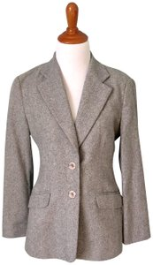 Caractère Wool 2-button Italy Gray Blazer