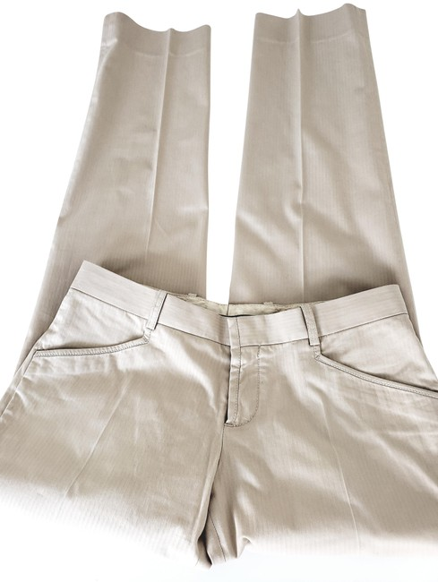 Preload https://img-static.tradesy.com/item/24271287/dolce-and-gabbana-beige-low-rise-cotton-pants-size-8-m-29-30-0-3-650-650.jpg