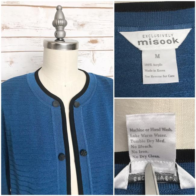 Misook Black, Blue Blazer