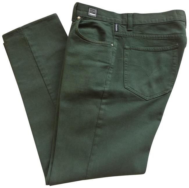 Preload https://img-static.tradesy.com/item/24271409/versace-green-unknown-straight-leg-jeans-size-14-l-34-0-3-650-650.jpg