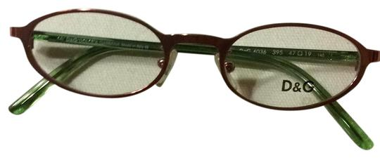Preload https://img-static.tradesy.com/item/24271465/dolce-and-gabbana-rose-copper-friends-metal-with-trans-parent-green-temples-eyewear-d-and-g4036-sung-0-3-540-540.jpg