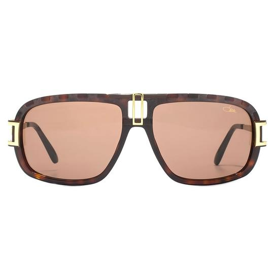 Cazal Cazal 8014 Sunglasses Color 003 Brown Gold Authentic New